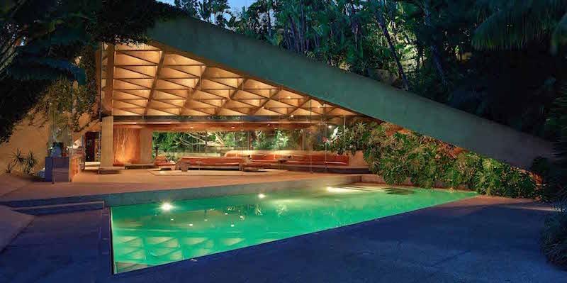 La foto della casa di jackie treehorn del grande lebowski for Grande design della casa