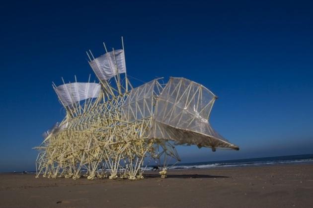Arte che cammina: strandbeest, le sculture cinetiche