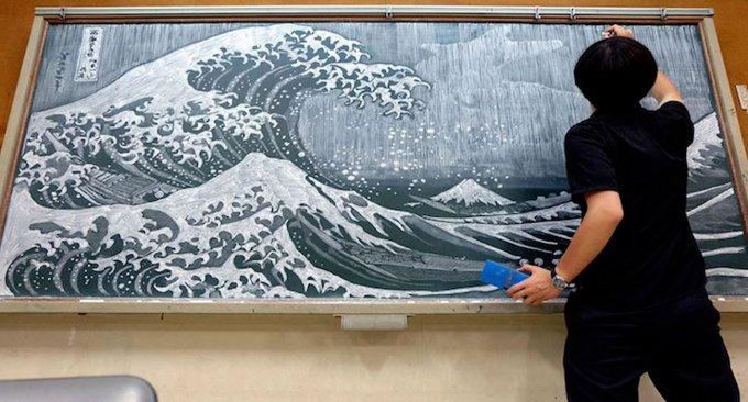 Questo professore giapponese riproduce perfettamente i capolavori della pittura