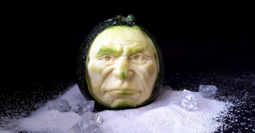 Incredibili sculture di frutta… Made in Italy