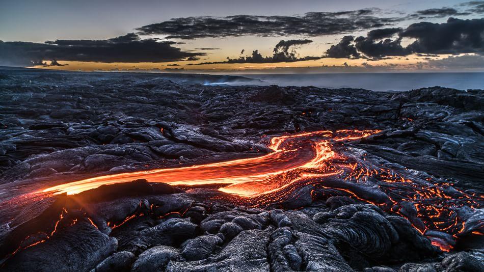 Hawaii, fiumi di fuoco
