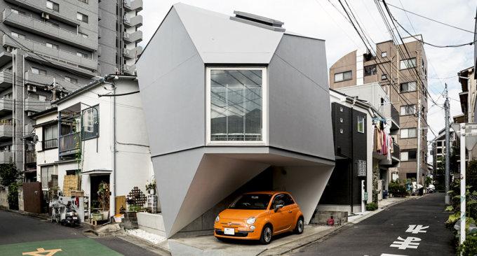 Questo fotografo ha girato il Giappone in cerca dei palazzi più strani