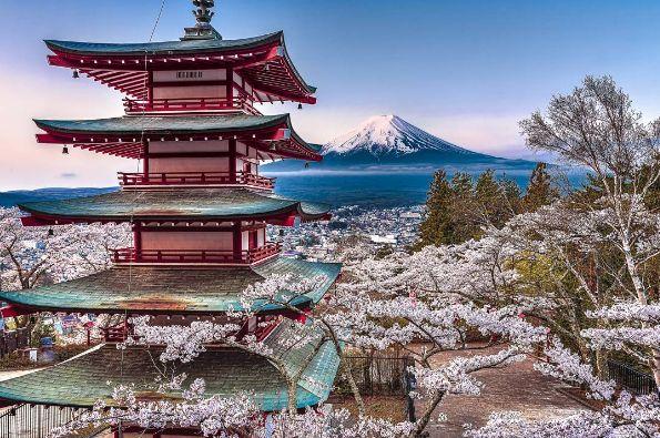 Queste foto del Giappone sembrano dipinte a mano