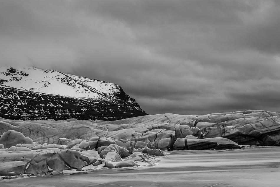 L'Islanda in bianco e nero