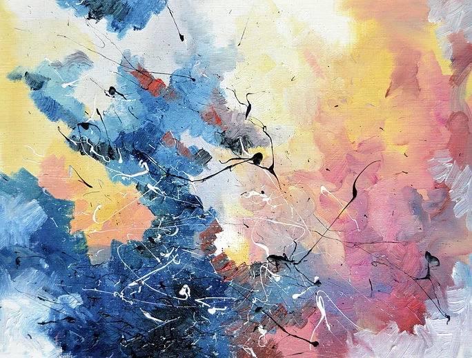Artista dipinge canzoni famose, grazie ad una malattia che gli fa vedere i suoni come colori