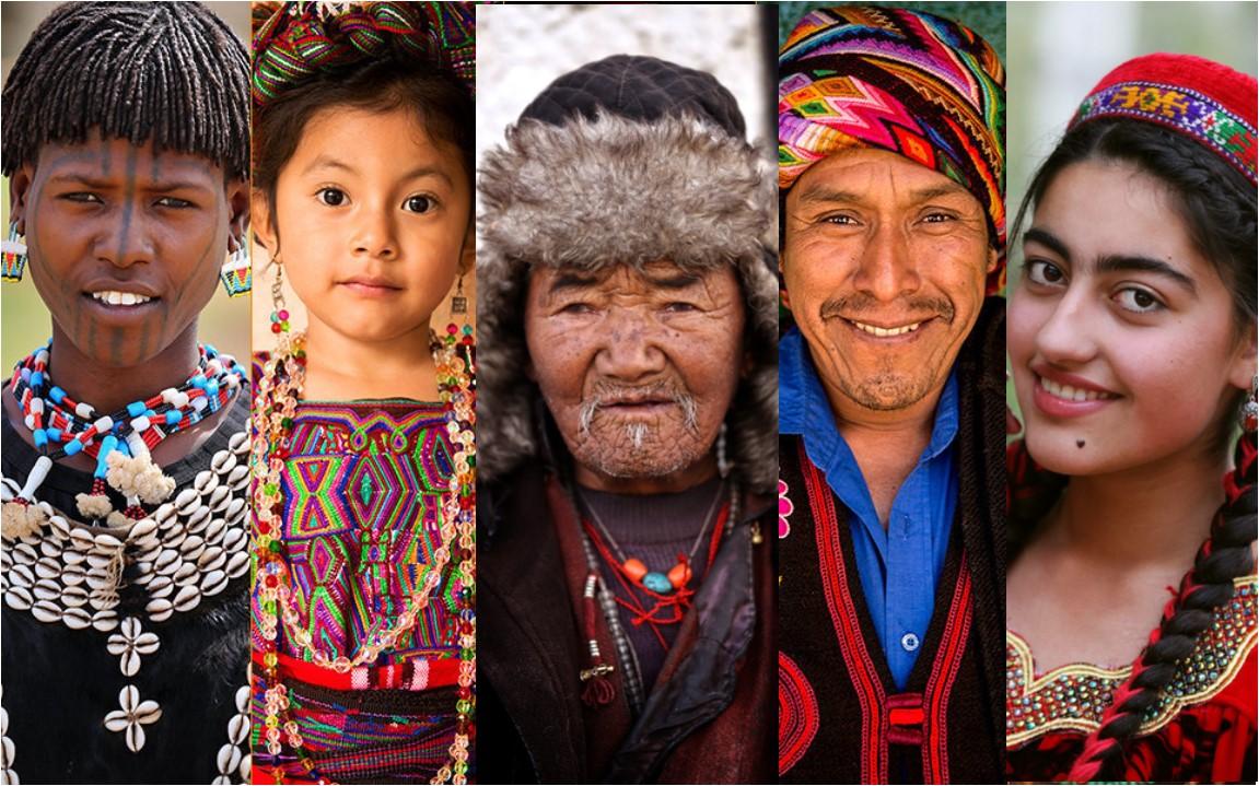Questi ritratti evidenziano la bellezza della diversità fra culture