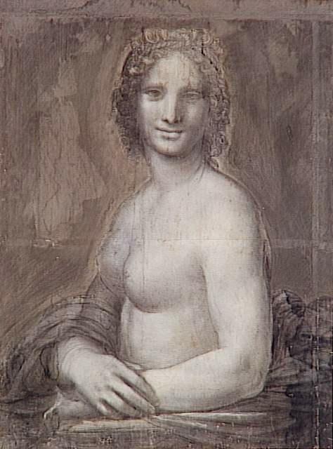 Parigi, La Gioconda Senza Veli Di Chantilly Opera Di Leonardo O Della Sua Bottega?