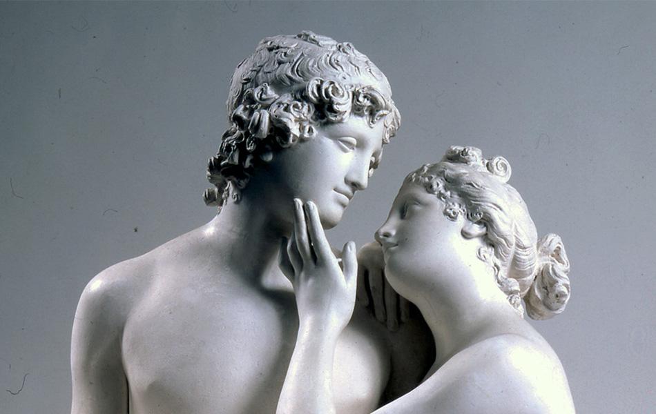 Adone e Venere di Canova, un capolavoro di dolcezza e intimità