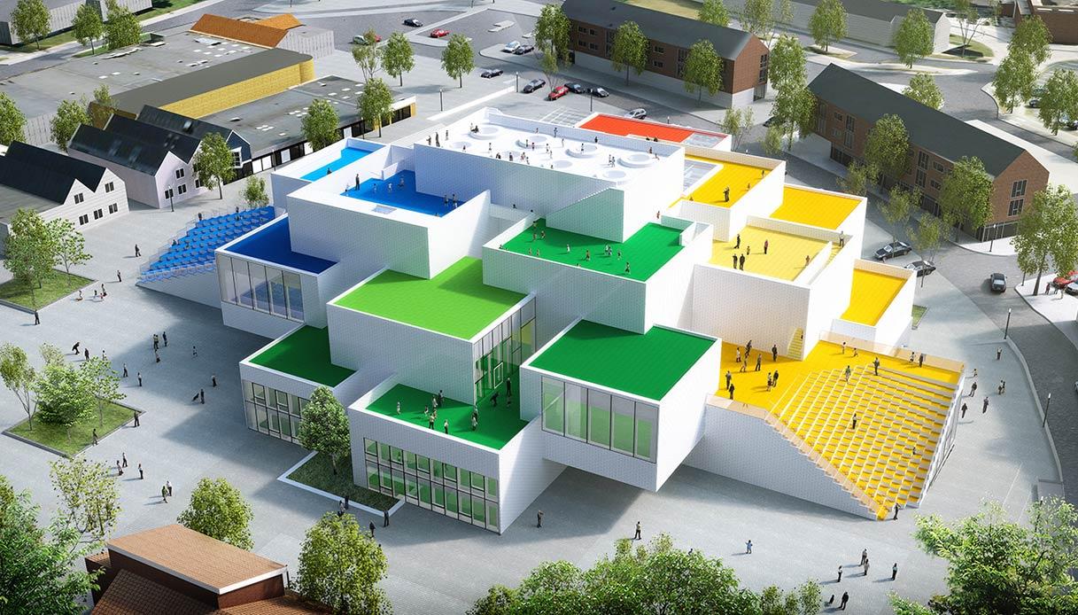 A Billund, in Danimarca, apre la Lego House