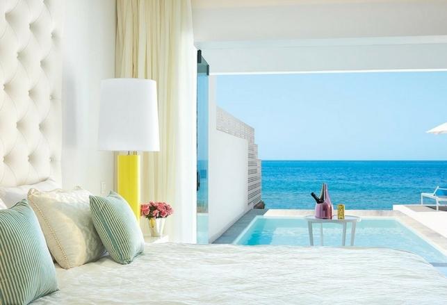 Gli alberghi con piscina privata in camera ecco quali - Hotel con piscina privata grecia ...