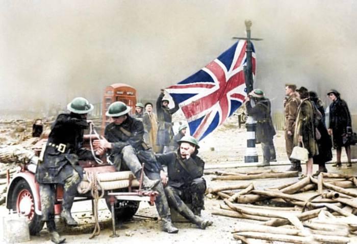 Le foto inedite della Battaglia d'Inghilterra del 1940