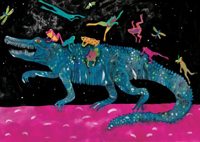 Le illustrazioni magiche e surreali di Giulia Conoscenti