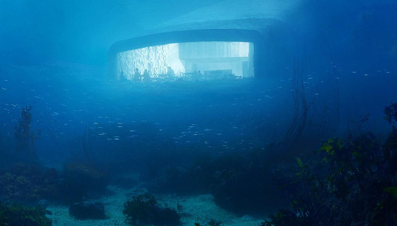 Il ristorante sotto il mare in Norvegia, il primo in Europa