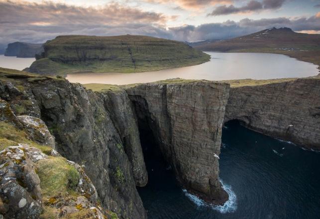 Sorvagsvatn alle Isole Faroe