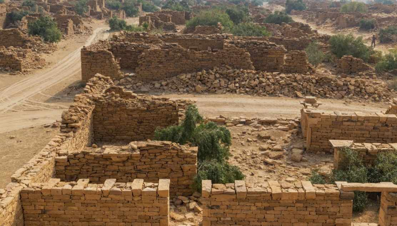 In India, c'è una misteriosa città nel deserto abbandonata all'improvviso