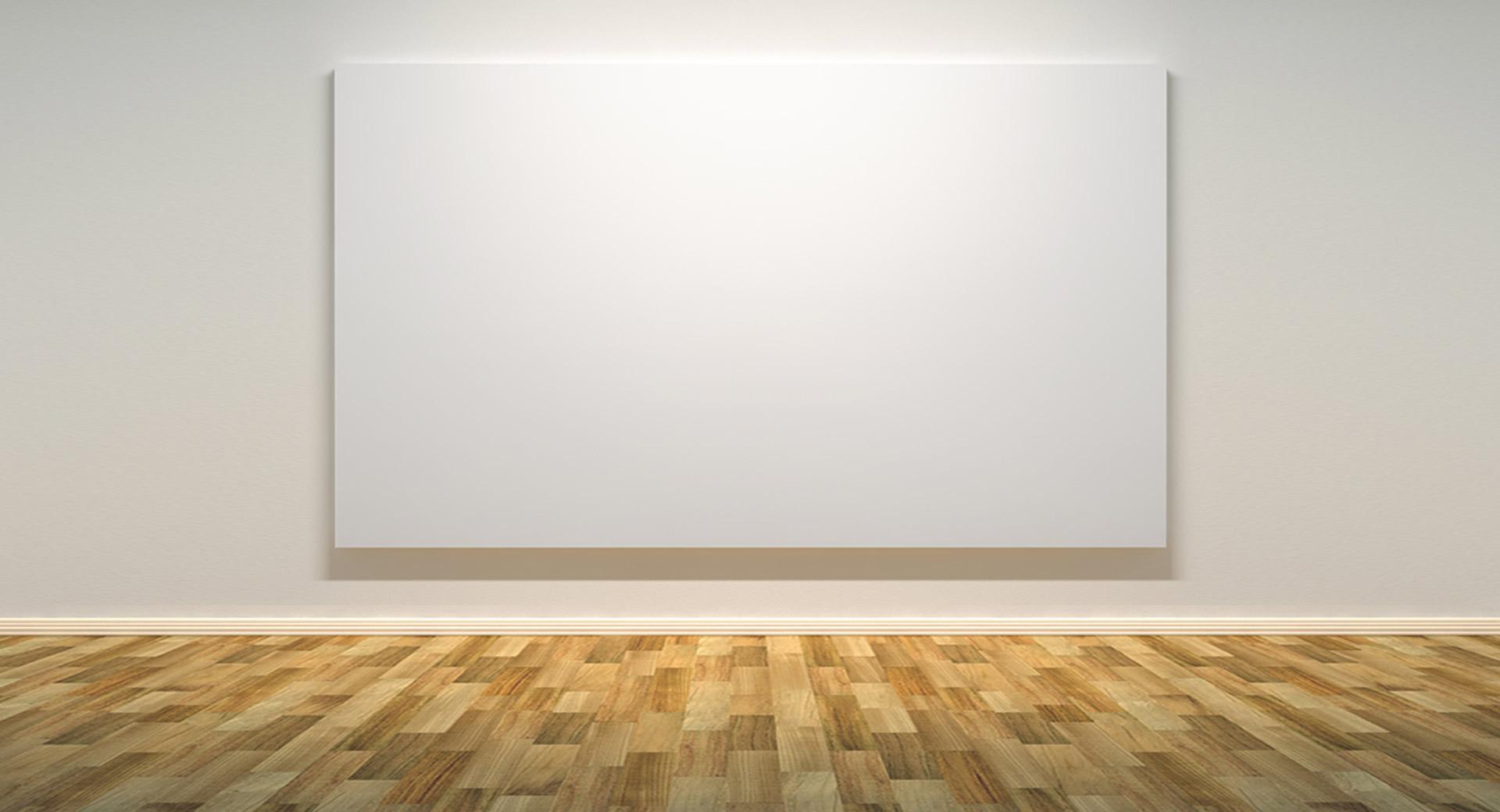 Una tela di un solo colore è un'opera d'arte?