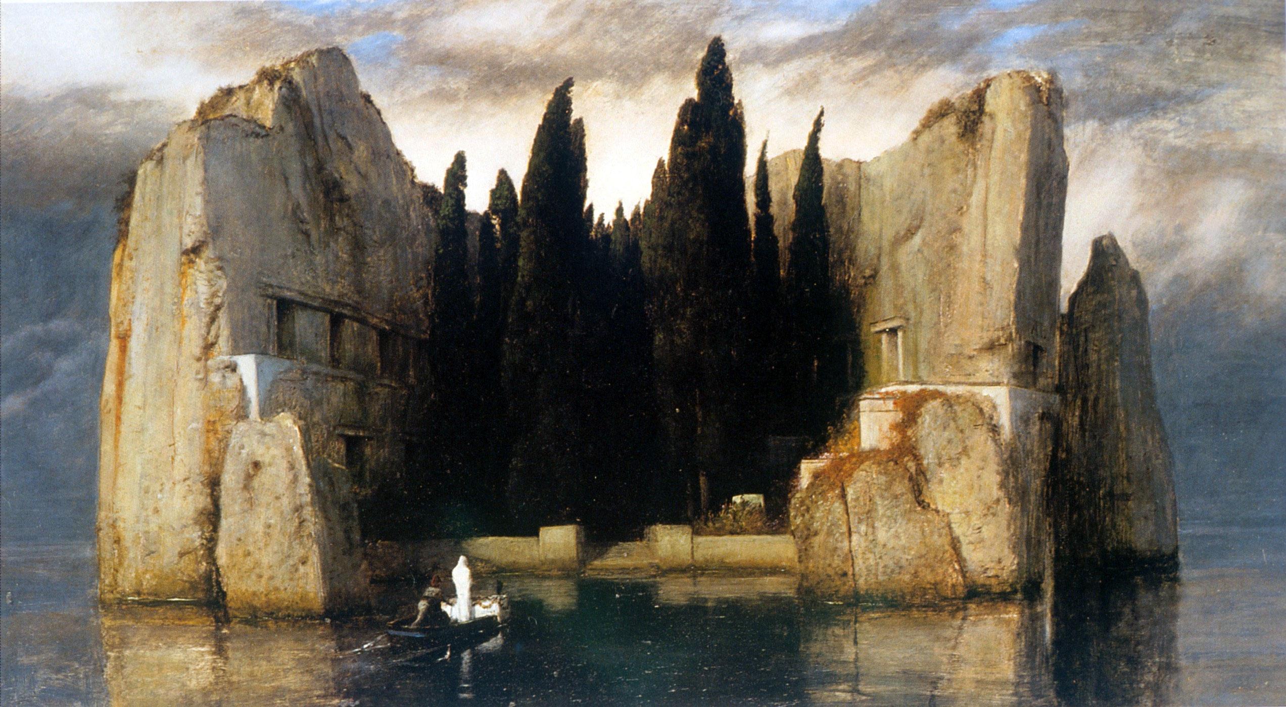 Arnold Böcklin, il grande pittore dell'Isola dei morti che piaceva a de Chirico