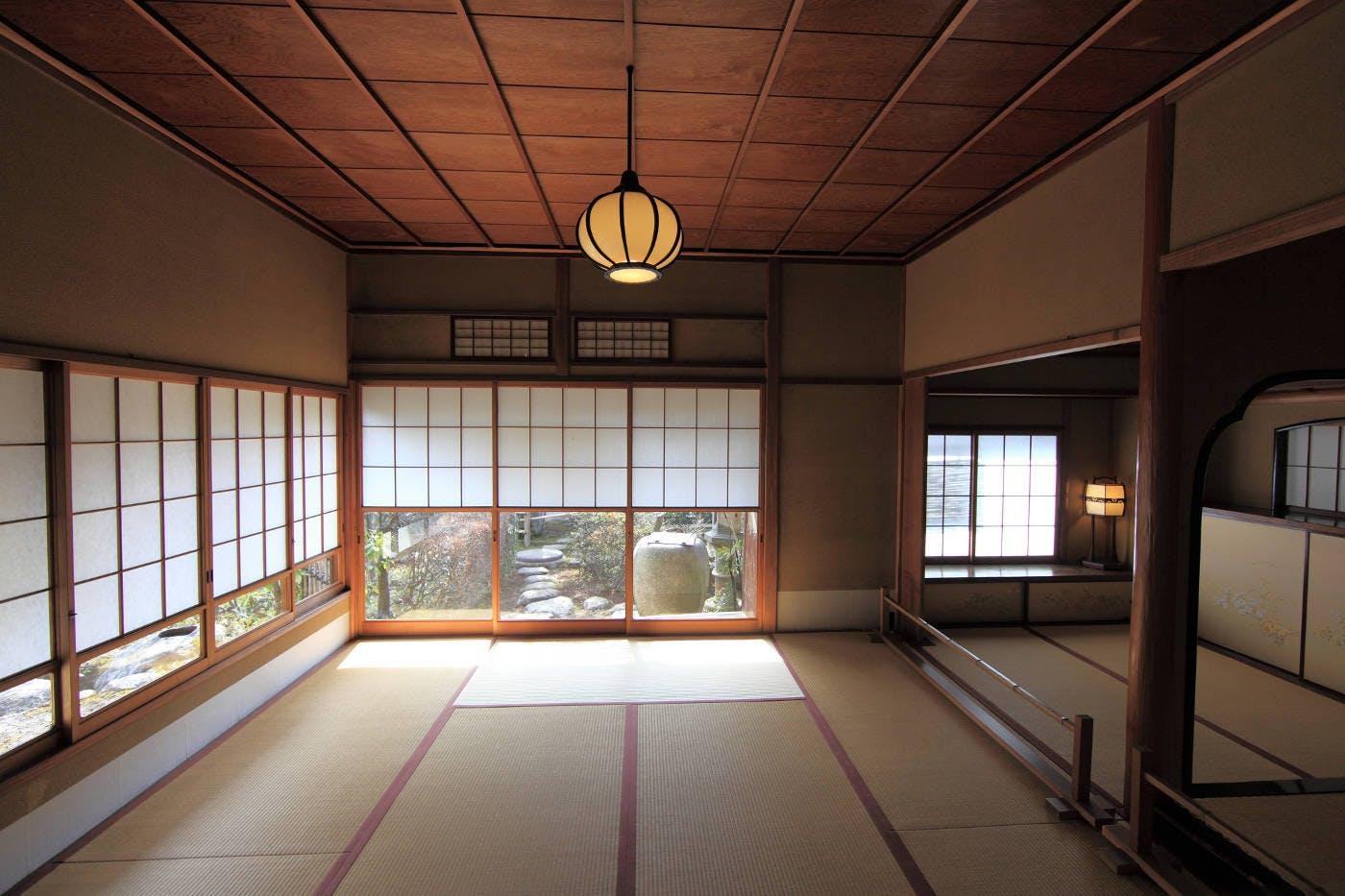 L'antica eleganza delle tradizionali case giapponesi