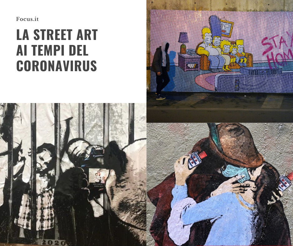 La street art ai tempi del coronavirus